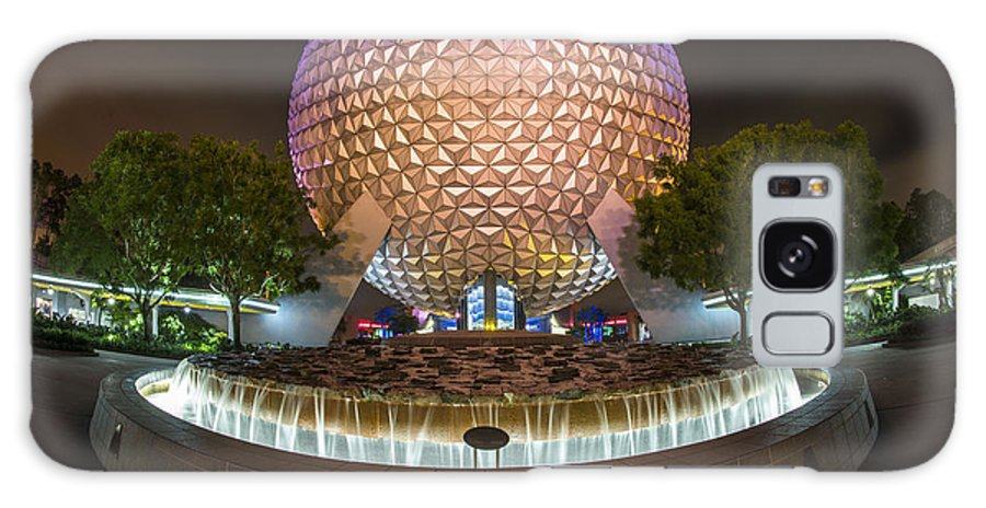 Epcot Galaxy S8 Case featuring the photograph Spaceship Earth by Carl Ruegg