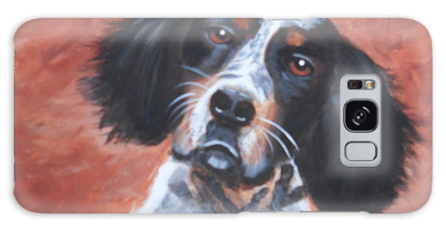 Pets Galaxy S8 Case featuring the painting Spaniel by Kathie Camara