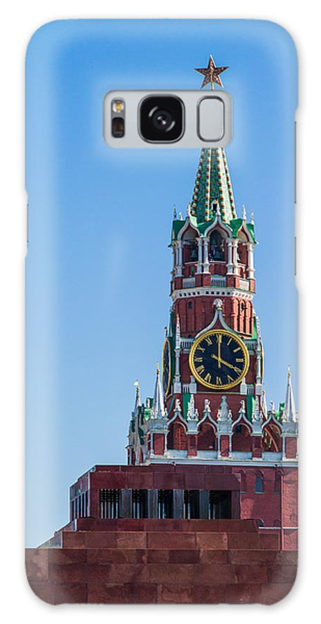 Age Galaxy S8 Case featuring the photograph Spasskaya Tower Of Moscow Kremlin - Featured 3 by Alexander Senin