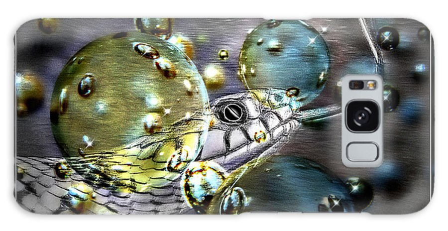 Erica Galaxy S8 Case featuring the photograph Speak With Forked Tongue - Featured In Nature Photography And Wildlife Groups by Ericamaxine Price
