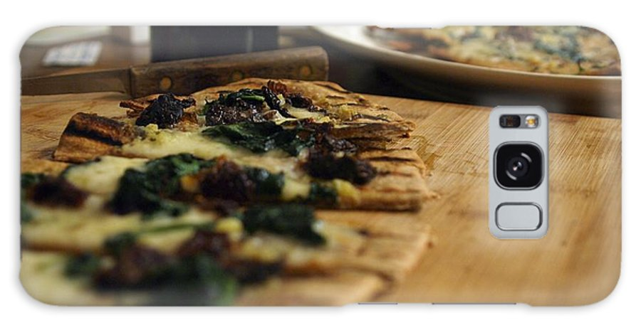 Food Galaxy S8 Case featuring the photograph Spinach And Sun Dried Tomato by John Lombardi