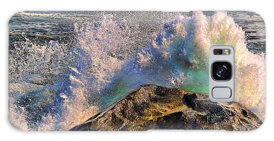 Ocean Scene Galaxy S8 Case featuring the photograph Splash by Tom Prendergast