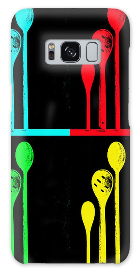 Spoons Galaxy S8 Case featuring the photograph Spoons by Anne Costello