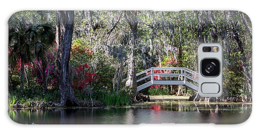 Magnolia Plantation Galaxy S8 Case featuring the photograph Spring At Magnolia Plantation 3 by Walt Baker