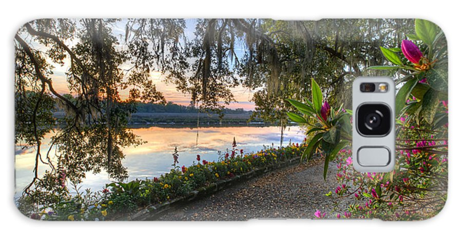 Magnolia Plantation Galaxy S8 Case featuring the photograph Spring At Magnolia Plantation 6 by Walt Baker