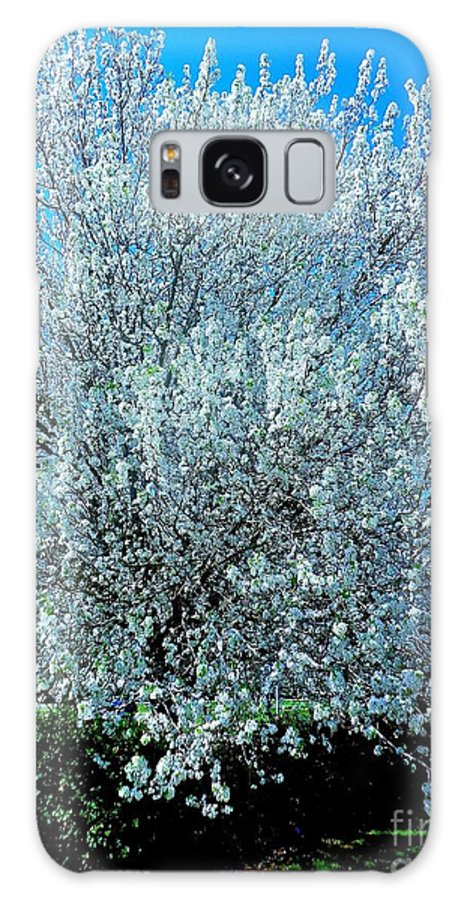Spring Crepe Myrtle Galaxy S8 Case featuring the photograph Spring Crepe Myrtles Blooming by Saundra Myles