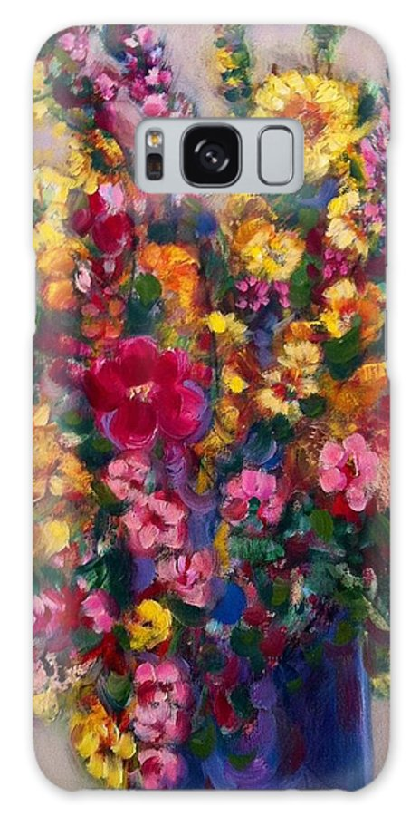 Impressionist Galaxy S8 Case featuring the painting Spring by Emel Ergen