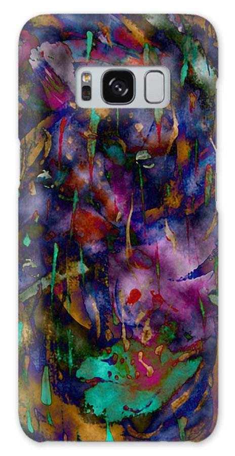 Abstract Galaxy S8 Case featuring the photograph Spring Rain by Vallee Johnson