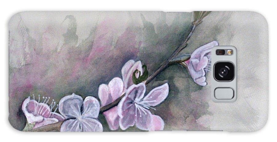 Rick Huotari Galaxy S8 Case featuring the painting Spring Splendor by Rick Huotari