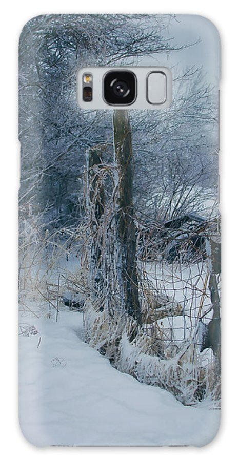 Ice Galaxy S8 Case featuring the photograph Springtime Icestorm by Susan Capuano