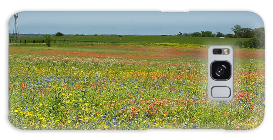 Flowers Galaxy S8 Case featuring the photograph Springtime In Texas 2 by Stephen Anderson