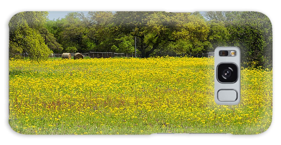 Flowers Galaxy S8 Case featuring the photograph Springtime In Texas 3 by Stephen Anderson