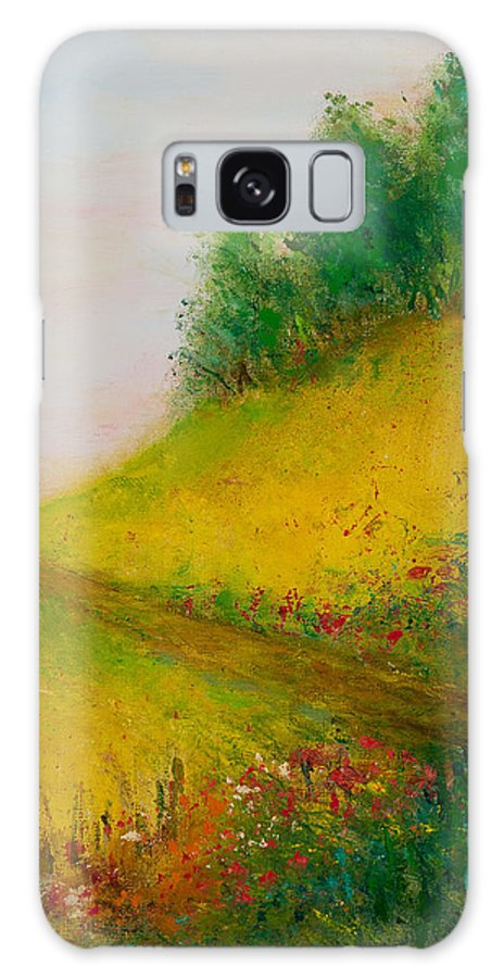 Spring Galaxy S8 Case featuring the painting Springtime by Larry Martin