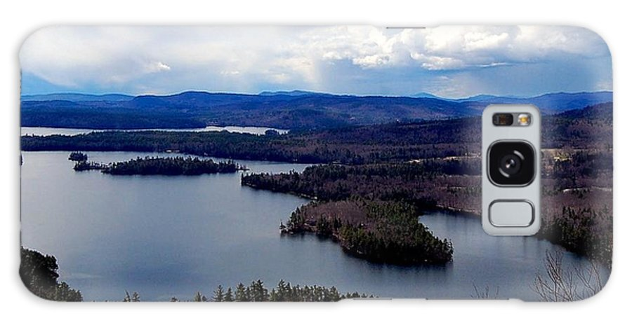 Squam Galaxy S8 Case featuring the photograph Squam Lake New Hampshire by Mim White