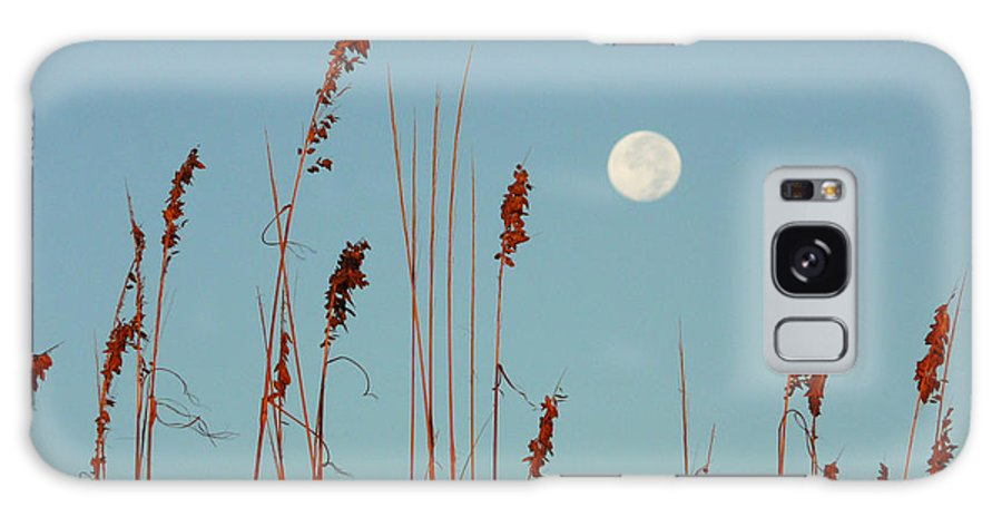 St. Augustine Beach Galaxy S8 Case featuring the photograph St. Augustine Beach Moonrise by Phil King