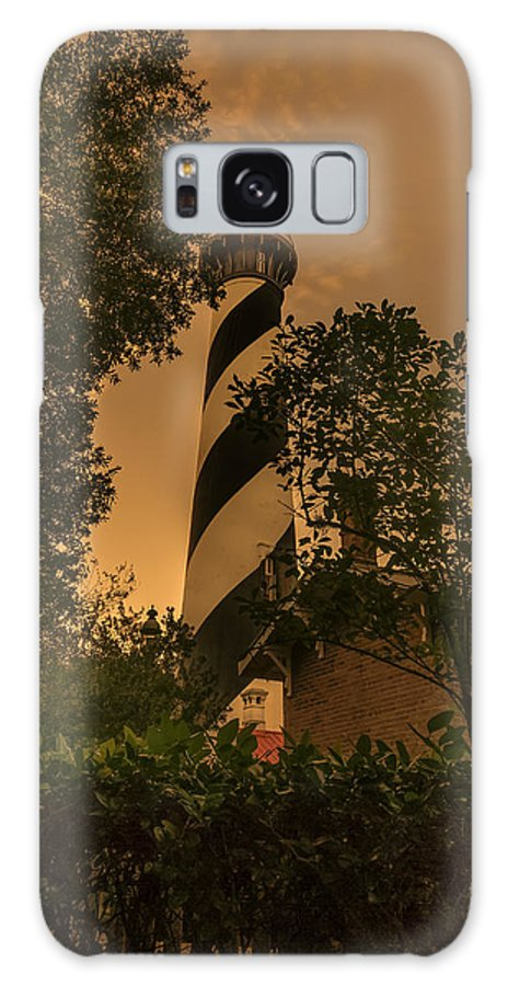 Lighthouse Galaxy S8 Case featuring the photograph St. Augustine's Lighthouse by Errol Wilson
