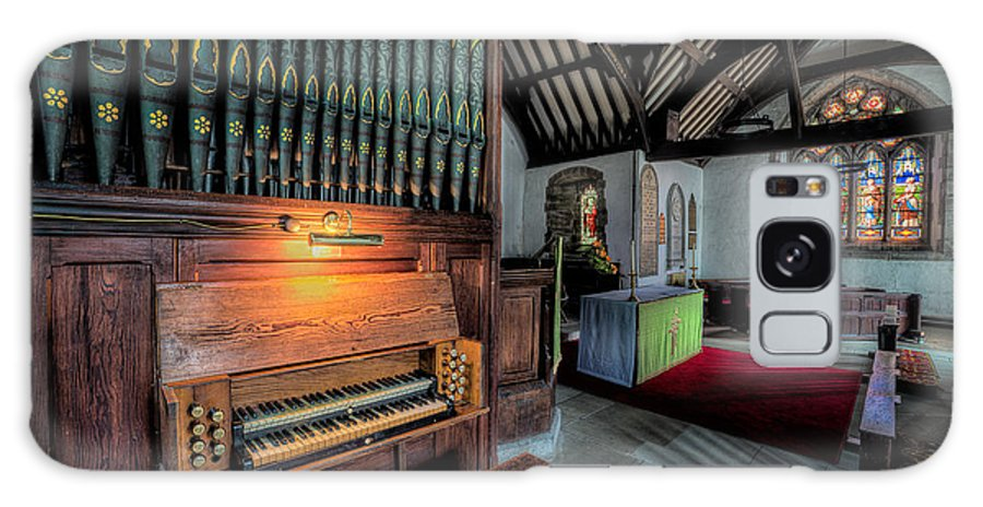 British Galaxy S8 Case featuring the photograph St Digains Church by Adrian Evans