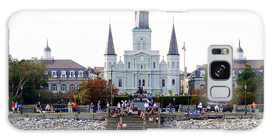 St Louis Cathedral Galaxy S8 Case featuring the photograph St Louis Cathedral by Ed Weidman