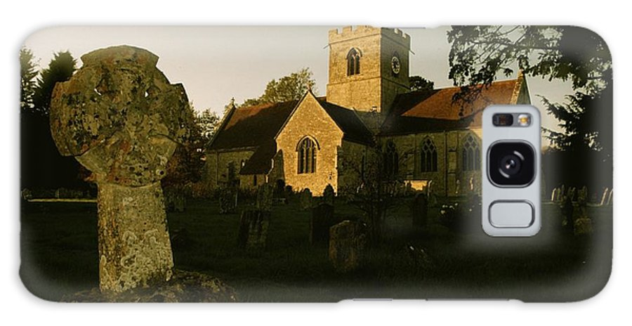 Church Galaxy S8 Case featuring the photograph St Marys Church And Ancient Memorial by John Colley