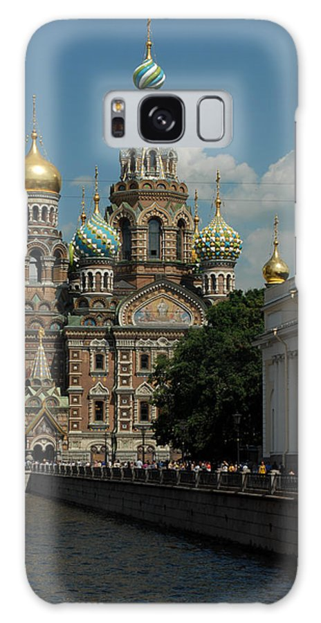 Russia Galaxy S8 Case featuring the photograph St Petersburg Russia by Philip Shone