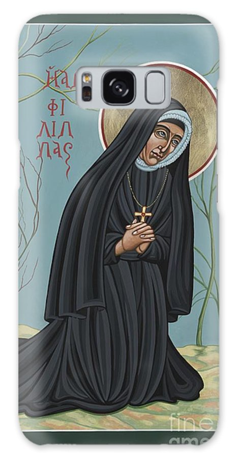 St. Philippine Duchesne Galaxy S8 Case featuring the painting St. Philippine Duchesne 259 by William Hart McNichols