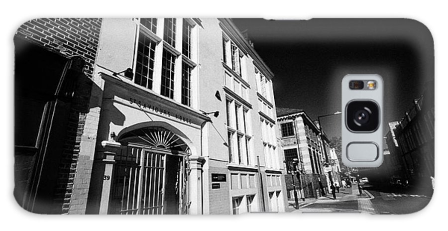 Saint Galaxy S8 Case featuring the photograph st saviours house home to united st saviours charity union street London England UK by Joe Fox
