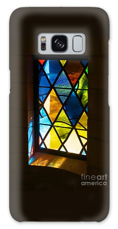 Stained Glass Galaxy S8 Case featuring the photograph Stained Glass by Ann Horn