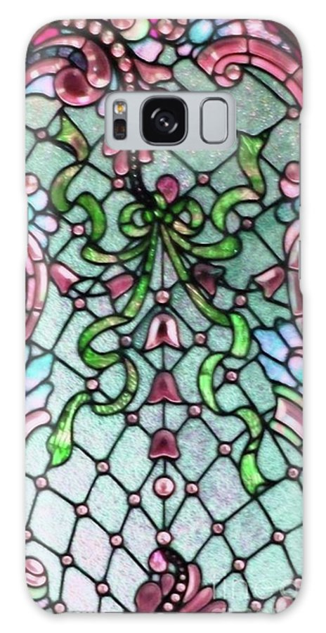 Stained Galaxy S8 Case featuring the photograph Stained Glass Window -2 by Kathleen Struckle