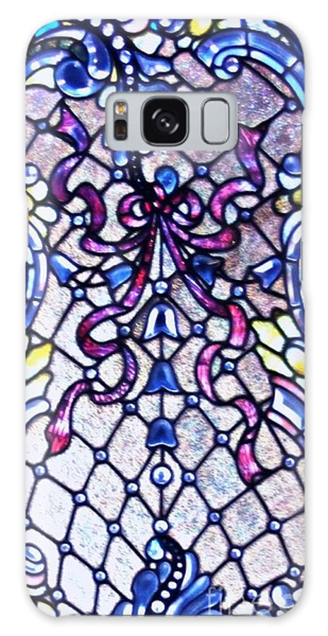 Stained Galaxy S8 Case featuring the photograph Stained Glass Window by Kathleen Struckle