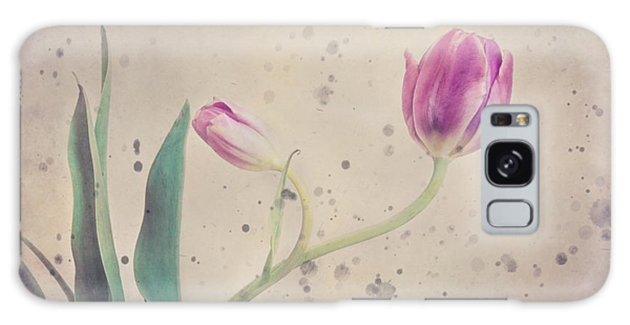 Stained Tulip Galaxy S8 Case featuring the photograph Stained Tulip by Cristina-Velina Ion