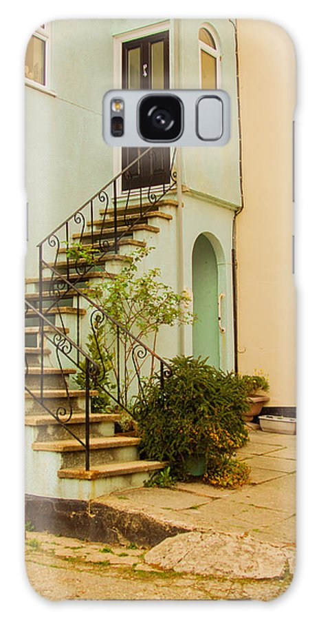 Stairway Lyme Regis Dorset Galaxy S8 Case featuring the photograph Stairway by Paul Martin