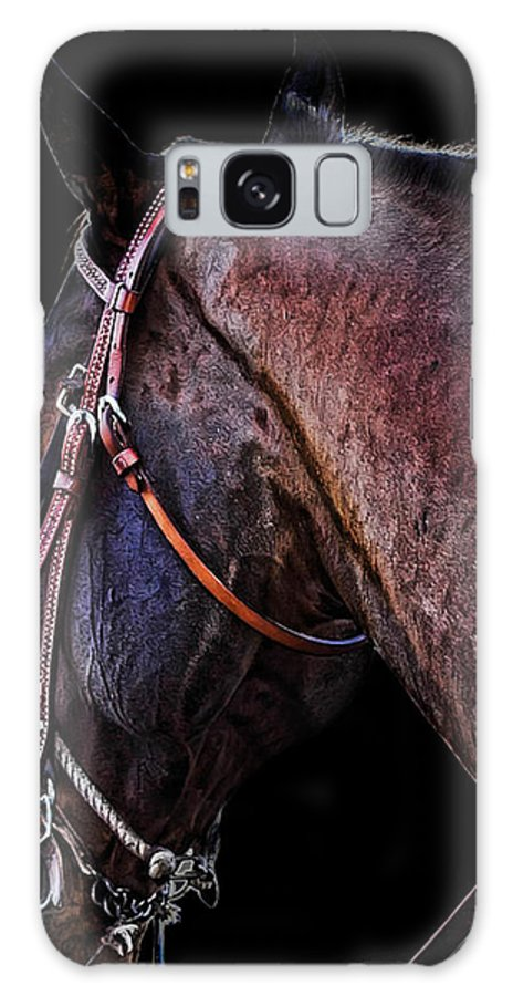 Horse Galaxy S8 Case featuring the photograph Stallion by Camille Lopez