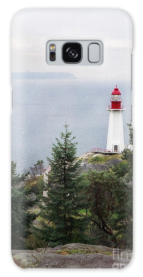 Lighthouse Galaxy S8 Case featuring the photograph Standing Guard by Vivian Martin