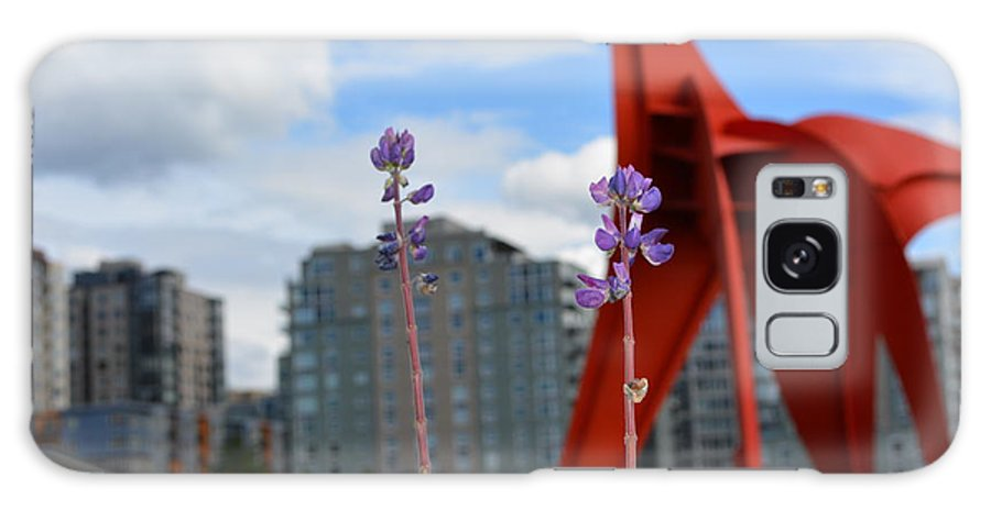 Flowers Galaxy S8 Case featuring the photograph Standing Tall by Monica Cuevas