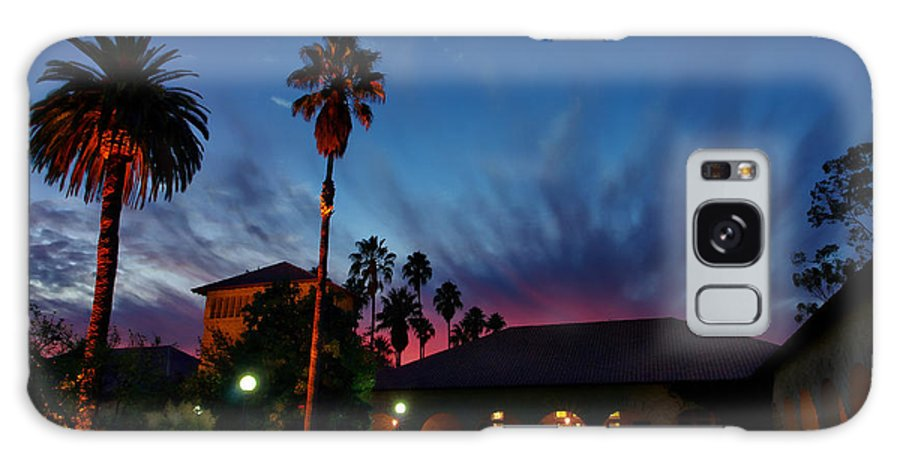California Galaxy S8 Case featuring the photograph Stanford University Quad Sunset by Scott McGuire