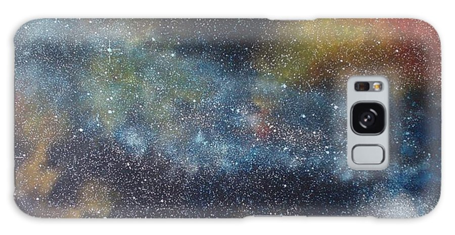Oil Painting On Canvas Galaxy S8 Case featuring the painting Stargasm by Sean Connolly