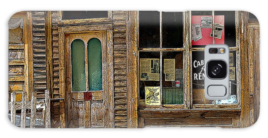 Colorado Galaxy S8 Case featuring the photograph Stark Store And Hotel - Ep by Rich Walter