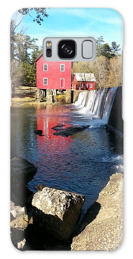 Scenic Galaxy S8 Case featuring the photograph Starr's Mill In Senioa Georgia 2 by Donna Brown