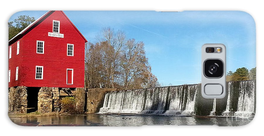 Scenic Galaxy S8 Case featuring the photograph Starr's Mill In Senioa Georgia by Donna Brown