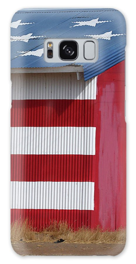 Fresno Galaxy S8 Case featuring the photograph Stars And Stripes by Art Block Collections
