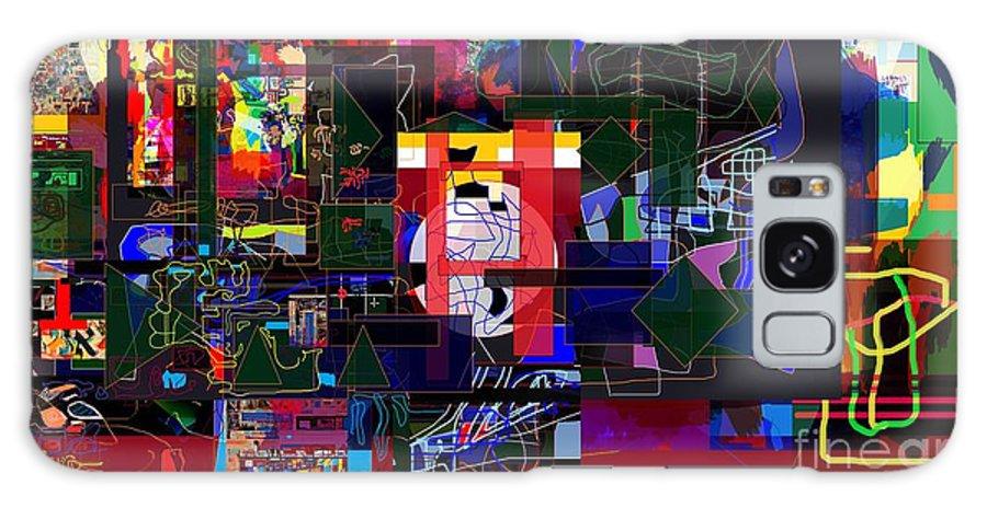 Torah Galaxy S8 Case featuring the digital art Start With Alef 7e by David Baruch Wolk