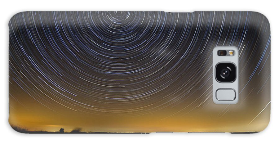 Deal Island Galaxy S8 Case featuring the photograph Startrails 3 by Benjamin Reed