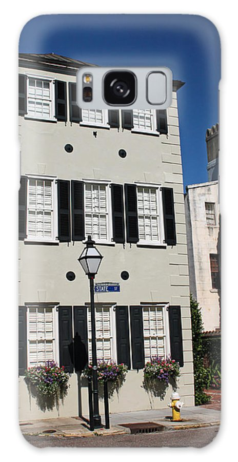 Charleston Galaxy S8 Case featuring the photograph State Street - Charlestons French Quarter by Suzanne Gaff