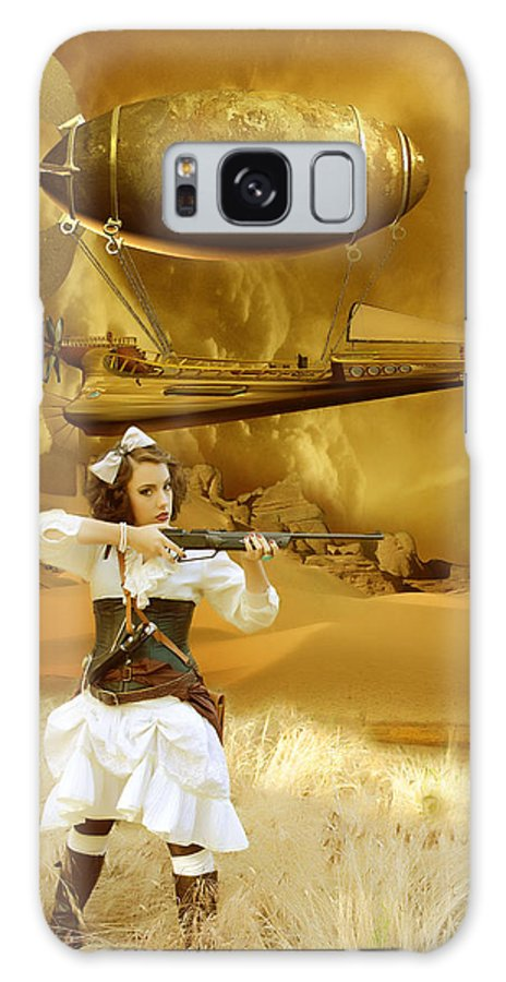 Steampunk Galaxy S8 Case featuring the photograph Steam Punk Envasion by Christine Holding