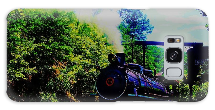Stream Train Galaxy S8 Case featuring the photograph Steam Train Of Sevierville by Peggy Leyva Conley