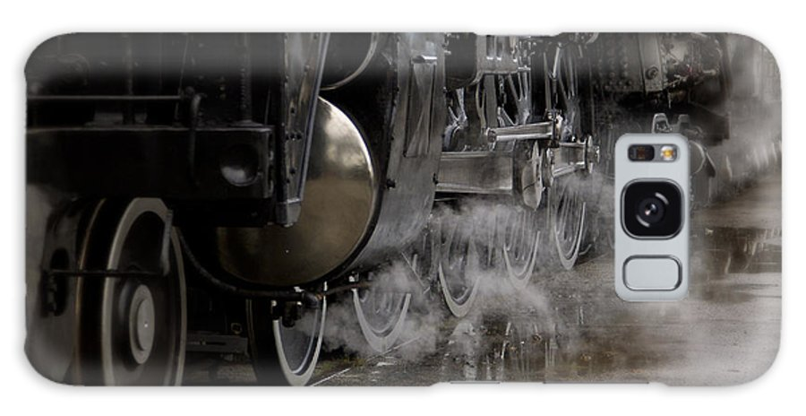 Train Galaxy S8 Case featuring the photograph Steam Wheels by Dennis Hedberg