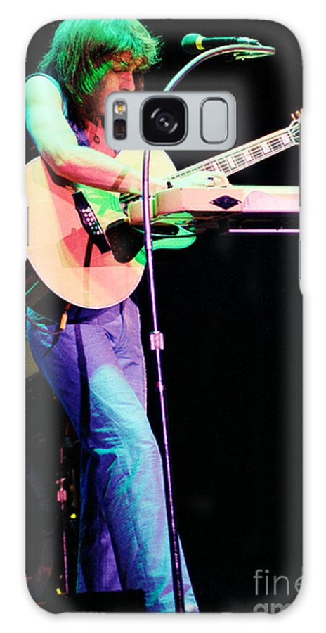 Steve Howe Galaxy S8 Case featuring the photograph Steve Howe Of Yes 1980 Drama Tour by Daniel Larsen