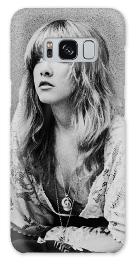 Stevie Nicks Galaxy Case featuring the photograph Stevie Nicks by Georgia Fowler