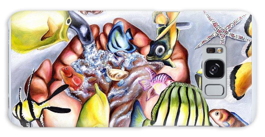 Dream Galaxy S8 Case featuring the painting Still Drunk by Hiroko Sakai
