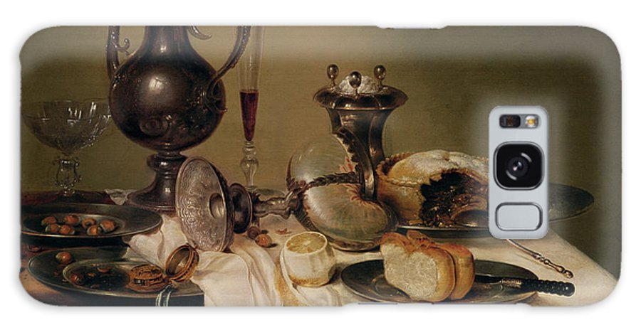 Nature Morte Galaxy S8 Case featuring the photograph Still Life, 1642 Oil On Canvas by Willem Claesz. Heda